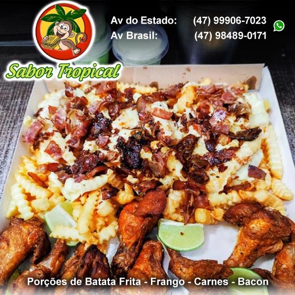 porção balneário camboriú bc batata frita frango carnes bacon bc 24 horas